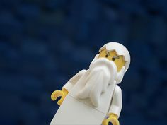 The bible in legos!