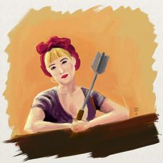 "Josh Freeman - Google+ - Portrait of BeatrixRouge with ""Performace"" for…"