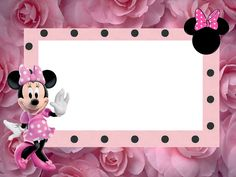 Inspired in Minnie Mouse: Free Printable Party Invitations in pink. Right click and save as Minnie Mouse Template, Minnie Mouse Pink, Mickey Minnie Mouse, Free Printable Party Invitations, Party Printables, Birthday Invitations, Minnie Mouse Birthday Decorations, Disney Frames, Disney Scrapbook