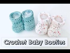 Is there anything more precious than itty bitty infant feet? Especially when they're covered in soft, cute hand-knit booties? Naturally not! #kasutbab... Baby Booties Knitting Pattern, Knitted Booties, Crochet Baby Booties, Baby Knitting, Crochet Boots, Crocheted Hats, Newborn Baby Boy Gifts, Newborn Boy Hats, Diy Baby Gifts