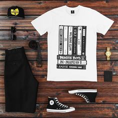 Outfit grid - Statement T-shirt
