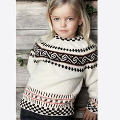 Rauma rundfelling barn by Rauma Ullvarefabrikk - issuu Kids Knitting Patterns, Knitting For Kids, Baby Knitting, Norwegian Knitting, Nordic Sweater, Fair Isle Knitting, Sustainable Clothing, Slow Fashion, Beading Patterns