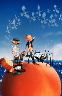 Ceinna...Remember james and the giant peach? We wore this movie out when you  were 3..still love it!