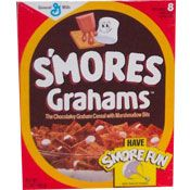 S'mores Cereal.. Nanny would buy these for me for Sunday breakfast, when I slept over on Saturdays.. (227 & Golden Girls!)