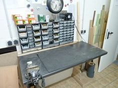 #Foldable #workbench with lots of #storage #space
