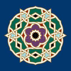 Aup Arabic Ornament Three | Vector | Colourbox on Colourbox