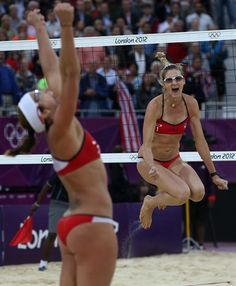 Misty May & Kerri Walsh - Beach Volleyball 2012