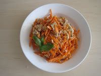 Harumi Kurihara's Carrot and Tuna Salad    Just tried making this for the first time tonight and it was delicious!