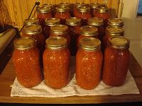 The Barn Door: How to Can Salsa - plus - A Big Batch Farm Salsa Recipe