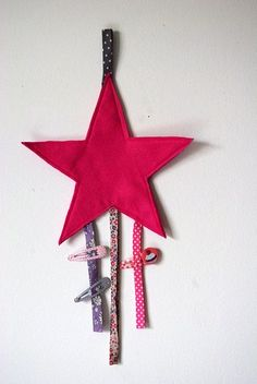 ou porte barettes étoile