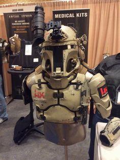 Galactac AR500 Ballistic Armor Suit - real life boba fett body armor