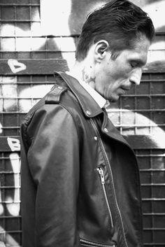 LEATHER JOURNAL by James D.Kelly #thekooples #leather #biker #jacket