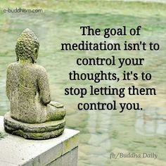 Meditation thoughts