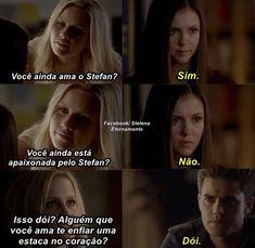 Triste vida, mas fazer o quê Damon é Damon