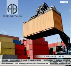 AB Sea Container Private Limited administration the empty and loaded ports and yards, offering our clients a broad system and tried and true associations for their worldwide transportation program. Take Advantage of our worldwide impression to guarantee proficient multimodal availability. What's more, with our devoted terminals and complex yard administration frameworks, AB Sea Container empowers full inventory network control to accelerate the conveyance of shipments and expand client…