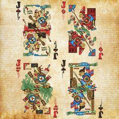 Aztec cards on kickstarter