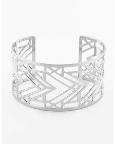 Frank Lloyd Wright Desert Triangles Cuff Bracelet