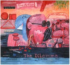 Philip Guston - VIII. Allegory, 1975. Oil on canvas, 67½ × 72¾ in