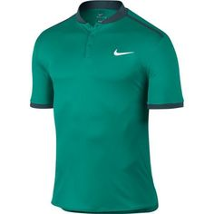 Nike Court Advantage Tennis Polo Mens M Rio Teal Midnight Turquoise 729384 351 #Nike #ShirtsTops