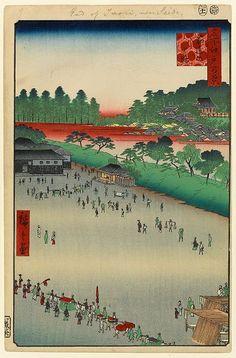 第9景 筋違内八ッ小路 安政4年(1857)11月