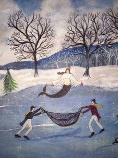 Kolene Spicher Mermaid Winter Scene - Part 2