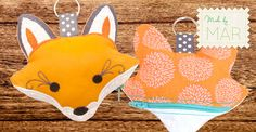 Stitch a little foxy coin purse in-the-hoop with this how-to from Brewer.