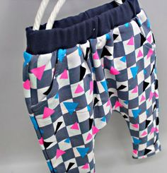 Checkers and Triangles Sweatpants