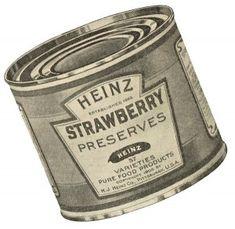 Antique Advertisement Heinz Tin Can via KnickofTime.net