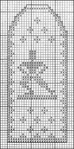 Mitten Pattern #504 chart