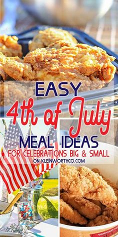 Check out all of the simple and easy 4th of July Meal Ideas that are sure to make celebrating our nation's birthday stress-free. #4thofJulyCooking #walmarthotdeli #semihomemade #ad 4th Of July Celebration, Fourth Of July, Cheese Mashed Potatoes, Tyson Foods, Healty Dinner, Quick Easy Dinner, Yum Yum Chicken, Dinner Rolls, Stress Free
