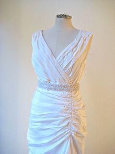Bridal wedding beaded pearl sash/belt PEARL PRINCESS by IngenueB, $90.00