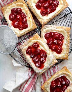 Easy Cherry Cream Cheese Danishes