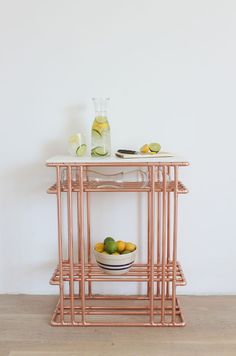 Full instructions -- DIY Copper Pipe and Marble Top Side Table