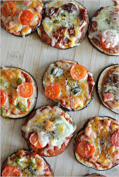 Sweet my Kitchen: Mini-pizzas de beringela