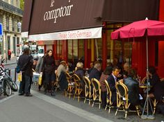 """6th arrondissement""""Yves Camdeborde helped define 'new bistro cooking' with dishes like roasted scallops in algae butter. A casual eatery by day, it reopens with white tablecloths and a prix fixe menu at night."""" —Dorie GreenspanRestaurant Info: Le Comptoir"""