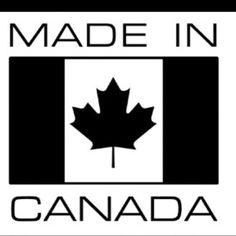Made in Canada Darkest Black Color, Canadian Things, Wie Macht Man, True North, Cotton Fleece, Organic Cotton, 21st, Canada, Logos