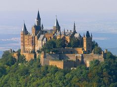 Burg Hohenzollern in Bisingen, Baden-Württemberg