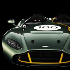 Impressive design work of Aston Martin Design, the perfect mix with modern Aston proportions and Aston Martin legacy.