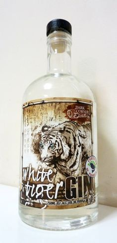White Tiger Gin Bottle, from South Carolina PD