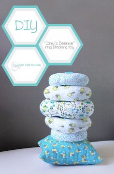 """How To's Day: """"Izzy's Beehive"""" Ring Stacking Toy"""