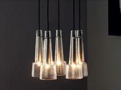 Direct light crystal Chandelier KEULE 5 Keule Collection by J.T. Kalmar