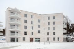 Gallery of Lorentzinpuisto Apartments / Playa Architects - 18