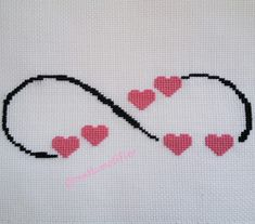 This Pin was discovered by H. Marvel Cross Stitch, Cross Stitch Heart, Cross Stitch Cards, Cross Stitch Borders, Cross Stitch Flowers, Cross Stitch Alphabet Patterns, Modern Cross Stitch Patterns, Cross Stitch Designs, Embroidery Motifs