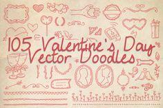 Valentine's Day Vector Doodles & Ideas