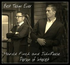 Person of Interest: Finch and Reese judging you
