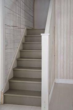 Light grey staircase ideas