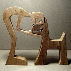 height: 12 cm width: 14 cm thickness: 2 cm the dog it is walnut, beech man. man wants to go out to walk outside but not the dog wants says out there too stupid.