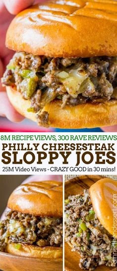Philly Cheese Steak Sloppy Joes will make you forget your childhood canned sauce memories and make you LOVE sloppy joes again. Philly Cheese Steak Sloppy Joes will make you forget your childhood canned sauce memories and make you LOVE sloppy joes again. Philly Cheese Steaks, Philly Cheese Sauce Recipe, Philly Cheese Steak Seasoning, Grilled Cheese Sloppy Joe, Grilled Cheeses, Cheese Recipes, Philly Cream Cheese, Grilled Meat, Steak Sandwich Recipes