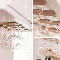 DIY Glass Holders