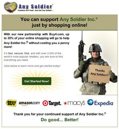 After I found out APO to APO was free I plan on sending several packages to random soliders! :)